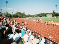 Pac-10 Championships, Stanford, Track, runners and fans