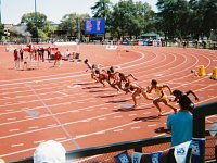 Pac-10 Championships, Stanford, Sprinters on the Track